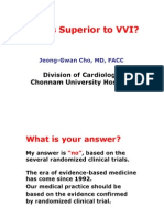 DDD vs VVI