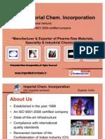 Imperial Chem Incorporation Vadodara India