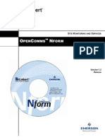 OpenComms Nform - Users Manual