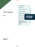 Spec Tat Ion Manual