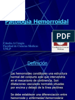 Patología Hemorroidal