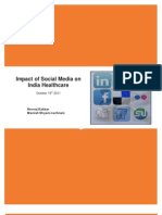 Impact of Social Media on India Healthcare-Neeraj Kakkar,Manish Shyam Nachnani