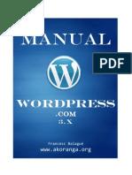 Manual tutorial Wordpress 3.0 - Akoranga