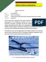 IT in Modern Healthcare Organizations-GUNJAN KUMAR