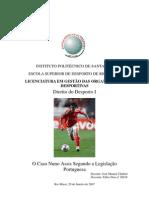 Microsoft Word - Nuno Assis_ Direito Desporto