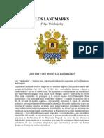 Woichejosky Felipe - Los Landmarks