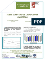 SOBRE EL FUTURO DE LA INDUSTRIA EUROPEA - ON THE FUTURE OF INDUSTRY IN EUROPE (Spanish) - EUROPAKO INDUSTRIAREN GEROAZ (Espainieraz)
