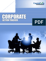 Weekly Corporate Action Tracker (21st - 25th Nov 2011)