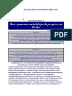 ABNT metodologia da pesquisa em direito