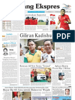 Koran Padang Ekspres | Sabtu, 19 November 2011.