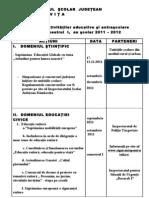 Grafic Activ. Educ. Sem. i 2011 - 2012
