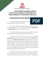 DECLARA+ç+âO DE VOTO - Or+ºamento 2012