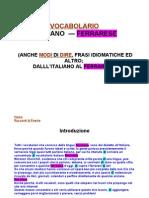 Vocabolario Ferrarese