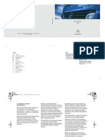Manual de Utilizare Mercedes-Benz Atego