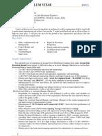 Resume,Nov,2011