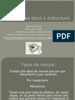 Mouse Tipos Estructura