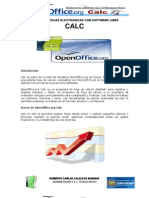 Calc Hojas Electronic As Con Software Libre Roberto Carlos Calizaya Mamani