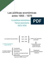 La política económica con del tercer peronismo 1973-76