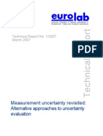 Technical Report Measurement Uncertainty 2007