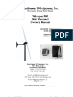 Doc Whisper 500 Grid Connect Manual 20070103173930