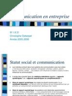 Communication en Entreprise(Suite & Approfondissements