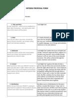 Interim FMP Form LNO