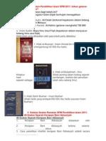 Soalan Ramalan Pendidikan Islam SPM 2011