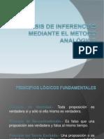 ANALISIS DE INFERENCIAS MEDIANTE EL METODO ANALÓGICO