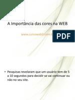 cores e a web