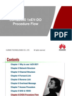 Cdma2000 1xEV-DO Procedure Flow