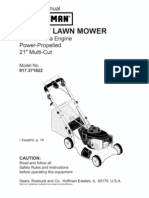 Lawnmower Manual - Different Mower