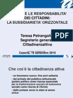 Poteri e responsabilità dei cittadini