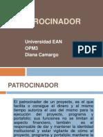 PATROCINADOR PRESENTACION