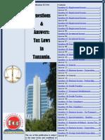 Tax Laws in Tanzania