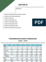 Statistik Energi Baru Terbarukan