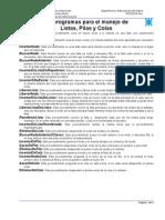 Módulo III - B - Subprogramas para operar con estructuras dinámicas