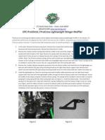 Proclimb Procross Lightweight Muffler Instructions
