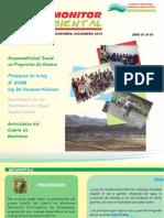 Primer Boletín EL MONITOR AMBIENTAL
