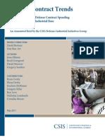 110506 CSIS Defense Contract Trends-Sm2