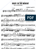 Kuhlau Sonata Op.83 FL