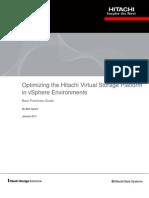 Optimizing the Hitachi Virtual Storage Platform Best Practices Guide