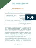 EOP 1.1.1 Marco Normativo y Legal