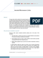Ceragon - 1+1 Resilient Microwave Links - Technical Brief