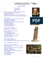Poema Para Galileo