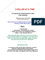 Journal of an Overcomer in 21st Century One Dollar at a Time 19.11