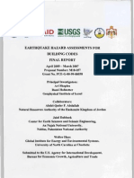 Earthquake Hazard Assesments for Building Codes - Final Report