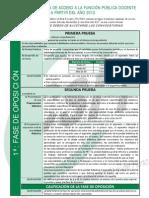Nuevo Sistema de Acceso a La Funci n p Blica Doc 16893