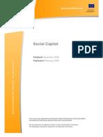 Social Capital-Special EUROBAROMETER N°223