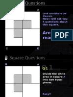 Test cu 4 patrate