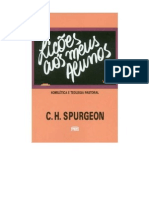 C. H. Spurgeon - Lições aos Meus Alunos - Vol. 2